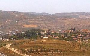 Reise nach Jerusalem: jüdische Siedlung im besetzten Gebiet
