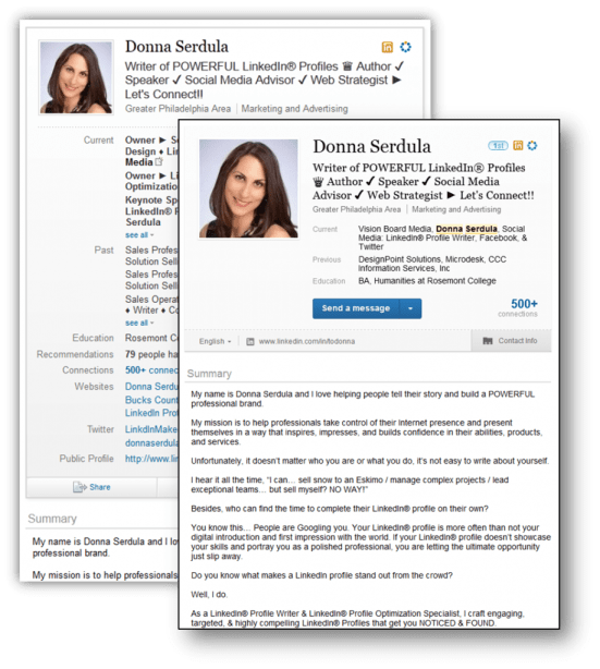 Design Change! New Look to the LinkedIn Profile