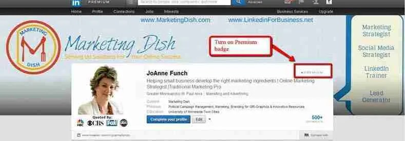 LinkedIn Offers New Banner Image Premium Accounts