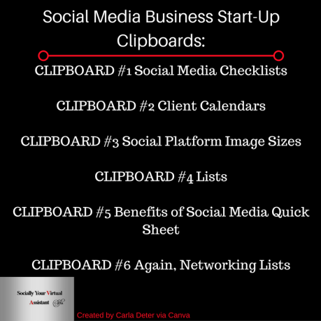 Social Media Business Start_Up_Clipboard_Organizing_Carla Deter