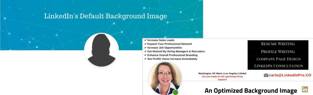 Linkedin Profile Background Images Linkedin Profiles And Resume Writing Services
