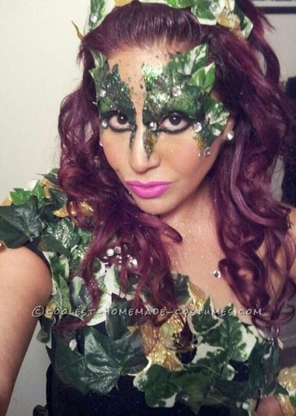 halloween, costumes, homemade, DIY, poison ivy