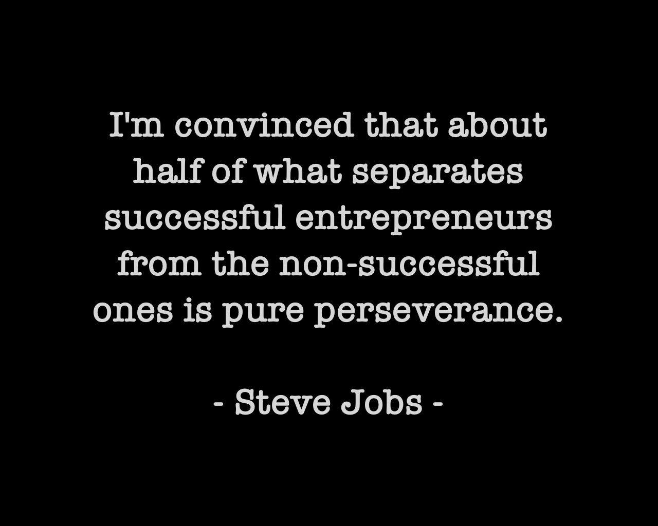Steve Jobs Quote - Top Entrepreneur Forums