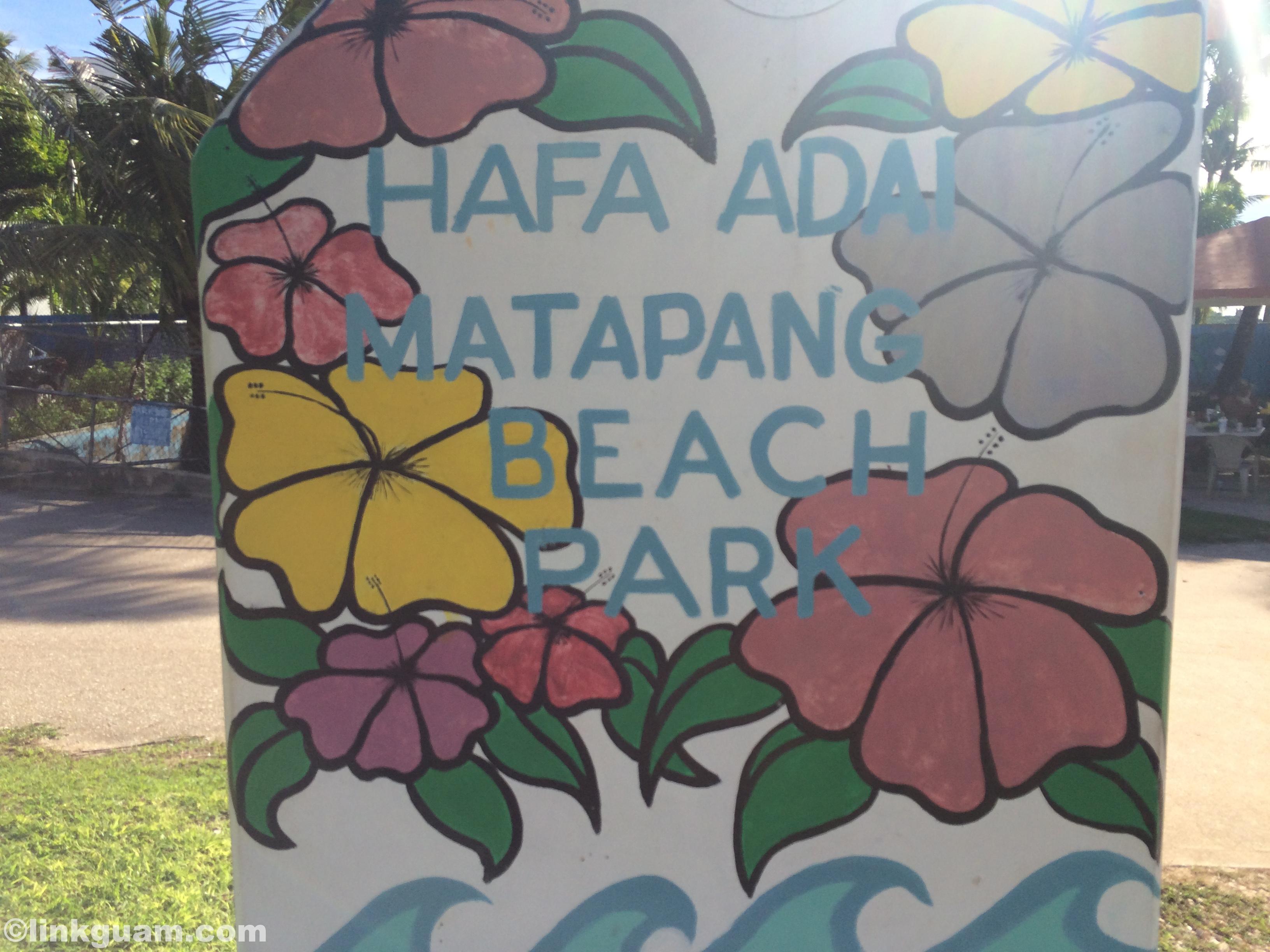 グアム マタパン matapang beach