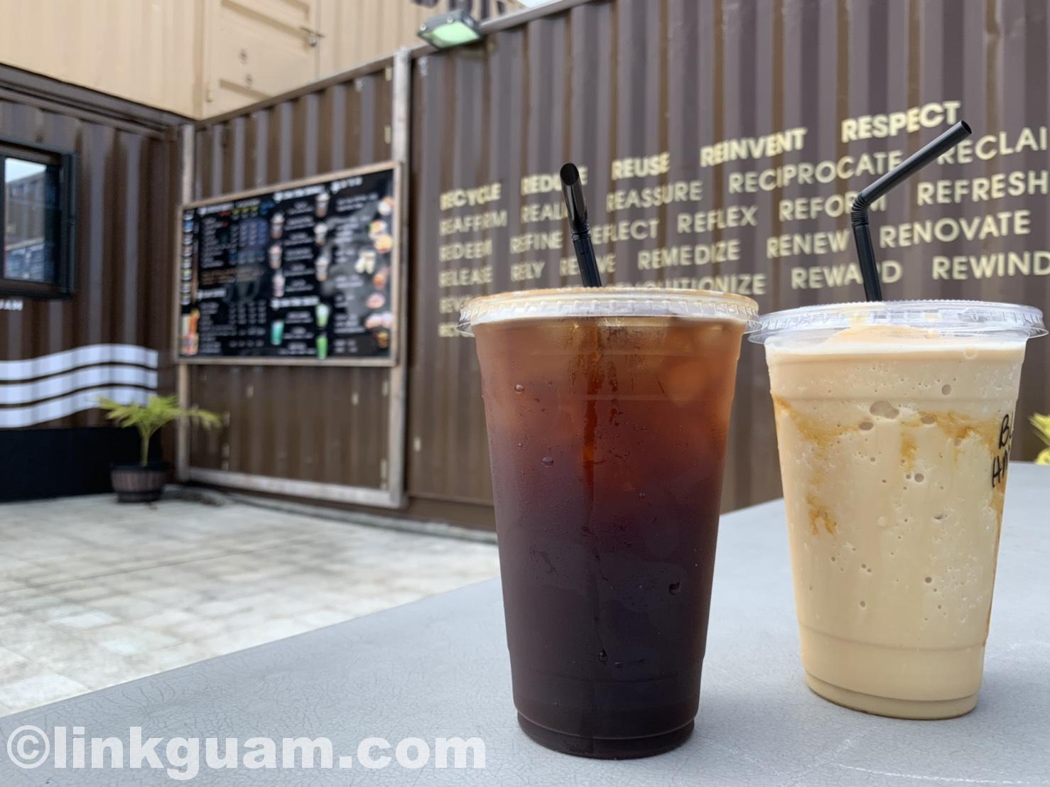 グアム カフェ おしゃれ インパクト 映えスリングストーン コーヒー guam cafe slingstone coffee tea