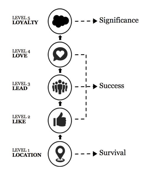 brand leadership 5 levels