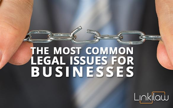Common legal issues for businesses