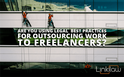 outsourcing work to freelancers