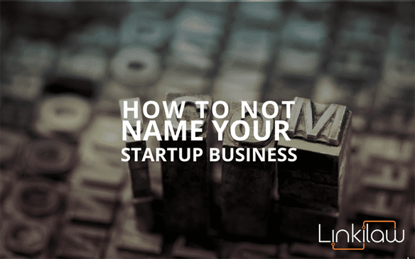 name your startup