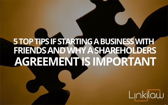 why a shareholders agreement is important