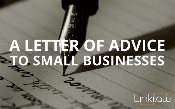 advice to small businesses