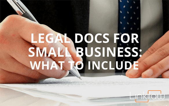 legal docs for small business