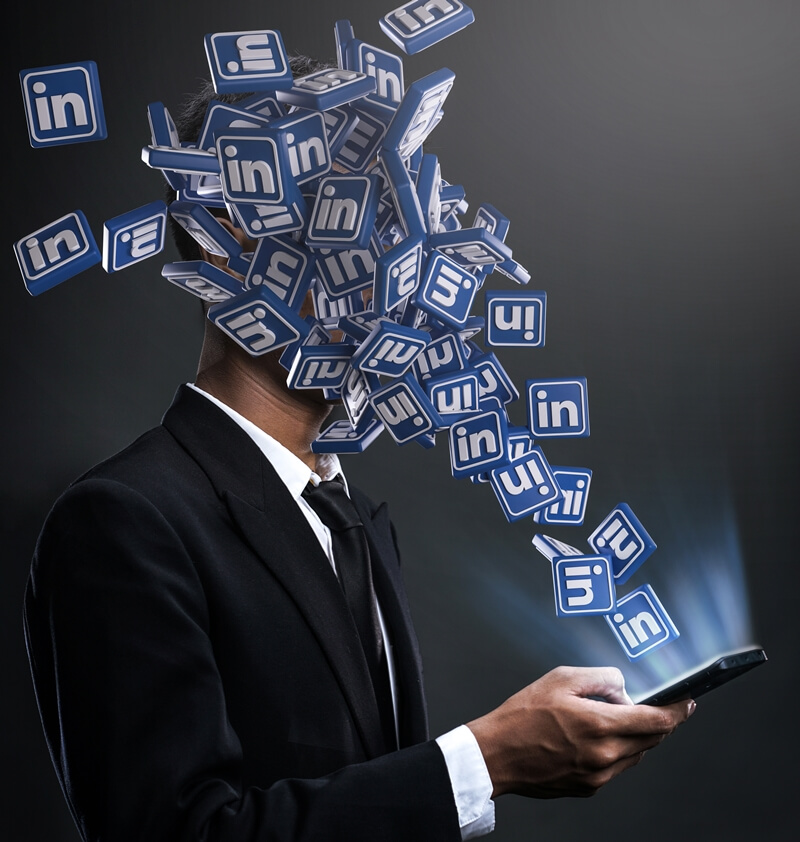 LinkedIn is the place to be if you're looking for a job.