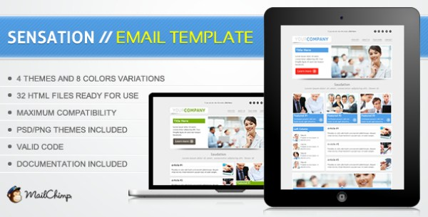 Email Template đẹp 2013 từ LinkLeads