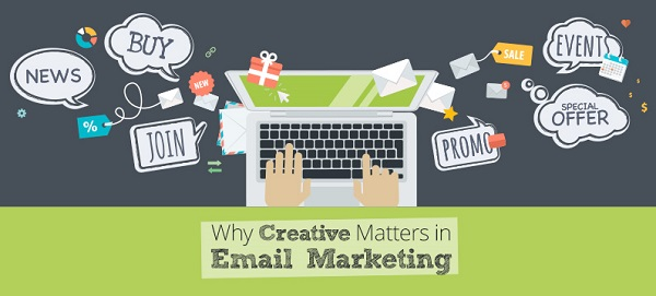 email marketing sáng tạo