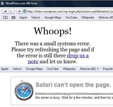 Error 500 en WordPress  linkm  Social Media Marketing Marketing en redes Sociales Marketing
