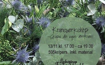 Kransworkshop 13:e november