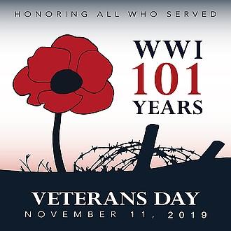 veterans day logo 2019