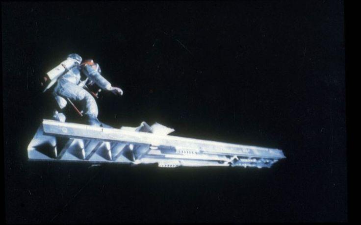 Iconic Dark Star Movie Scene Surfing Astronaut