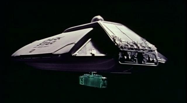 Dark Star Spaceship and Bomb