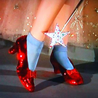 Dorothy's Red Slippers from the Wizard of Oz