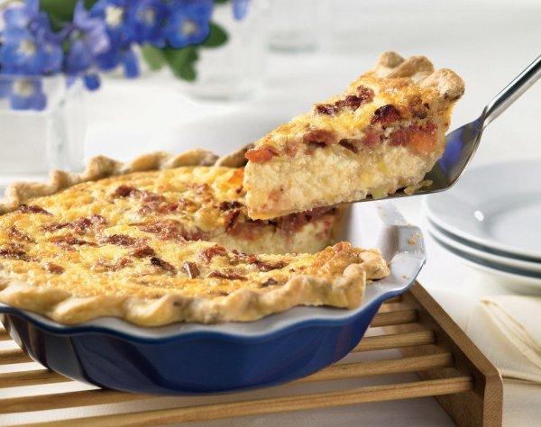 Tomato Bacon Quiche Tomato Leek Quiche Cabot Creamery