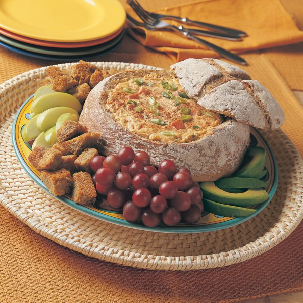 Rye Boat with Cha Cha Filling With Cabot Cheddar With