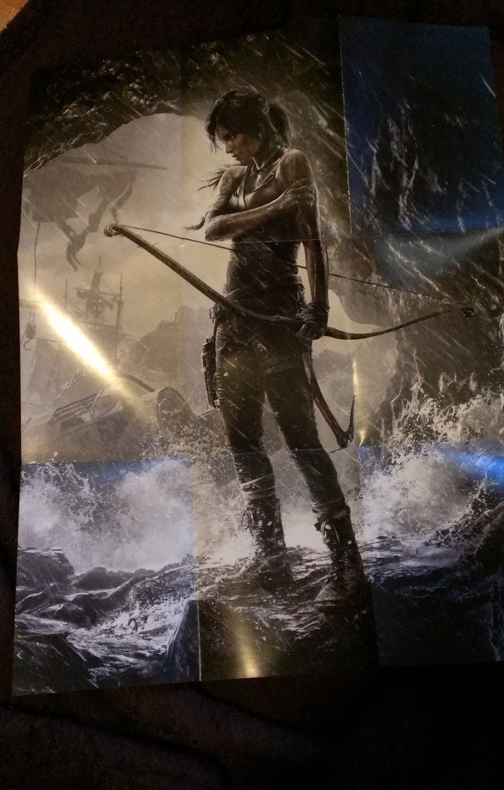 Tomb Raider Collectors Edition Photo Unboxing