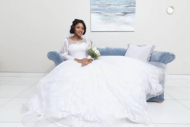 The bride, a husband's pride..