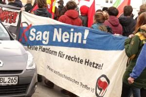 Demo für ein Buntes Villingen Schwenningen am 30.1.16