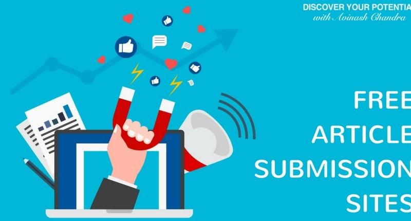 Top 10 High Authority Article Submission Sites for 2018