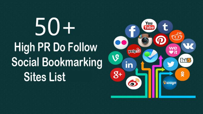 Free .COM Social Bookmarking Sites List 2021