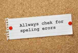 SEO Check Spelling Errors