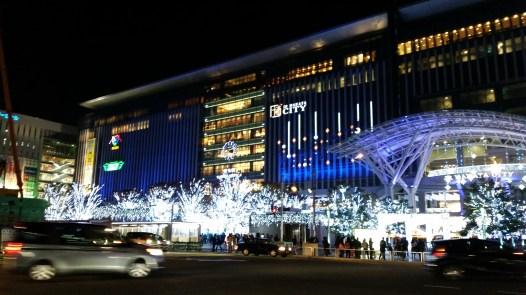 Hakata, toujours super joli la nuit