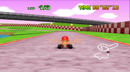 Mario Kart 64 (U) snap0014