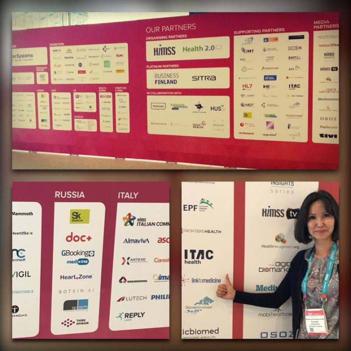LinktoMedicine - the official partner of HIMSS European conference 2019 in Helsinki, Finland. This year we made a new step in building Russian-speaking HIT community. he Russian Federation and Kazakhstan joined HIMSS European conference and HIMSS international community. LinktoMedicine was mentioned among other partners in a Country Delegations and Pavilions list:  https://www.himsseuropeconference.eu/helsinki/2019/country-delegations-pavilions
