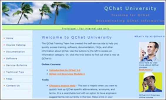 QChat University Prototype