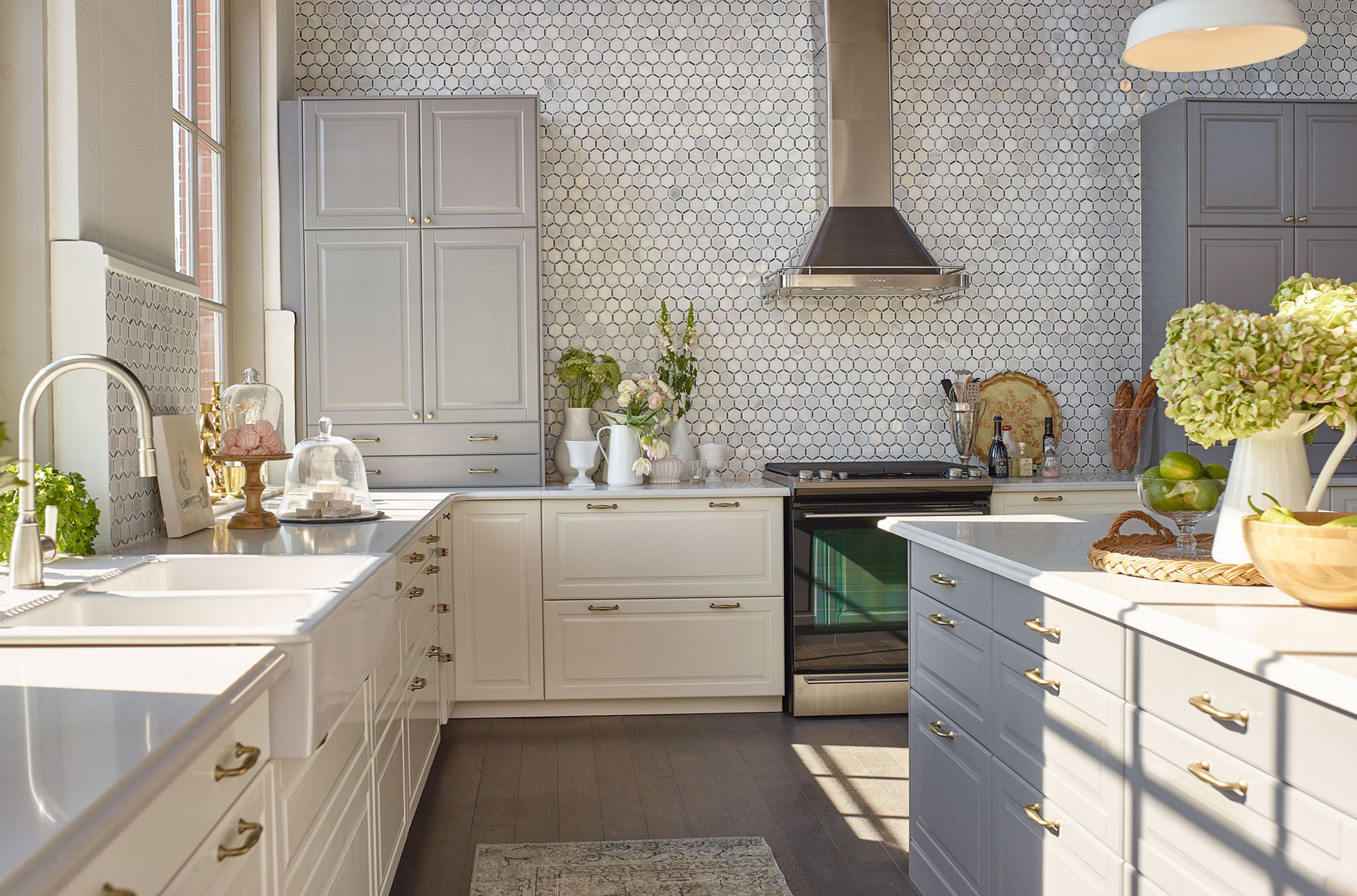 Create Your Designers Kitchen Using Ikea Cabinets In 10 Steps Linnea Lionslinnea Lions