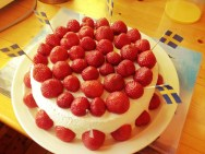 jordgubbstårt