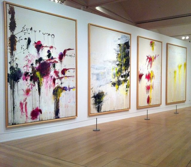 Cy Twombly, Le Quattro Stagioni (The Four Seasons)