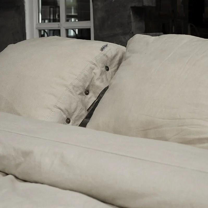 katoenen-dekbedovertrek-stonewashed-zand-kussen
