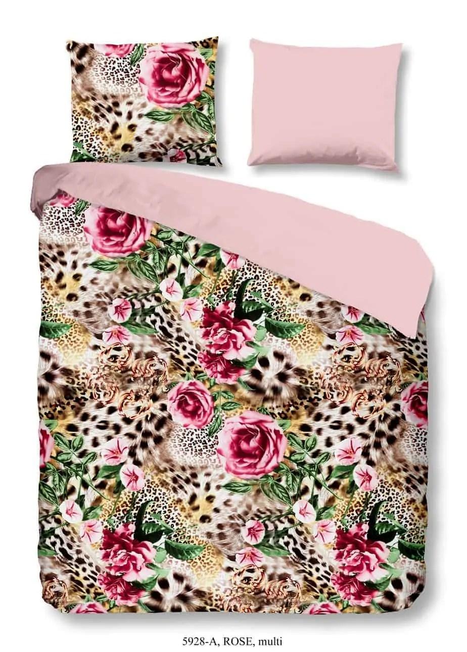 luipaardprint hartstochtelijk flamboyant diva dekbedovertrekken slaapkamermode