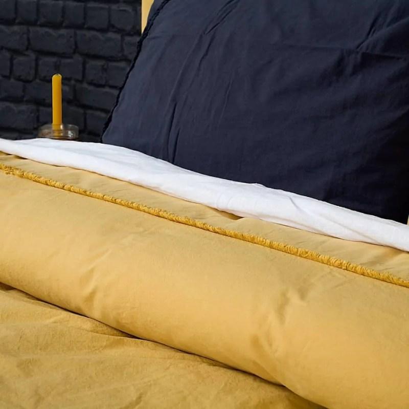 katoenen-dekbedovertrek-240-x-220-harwich-okergeel-overtrek-katoen-yellow-linen