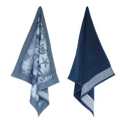 elias-handdoeken-en-theedoeken-sea-adventure-donkerblauw-zee