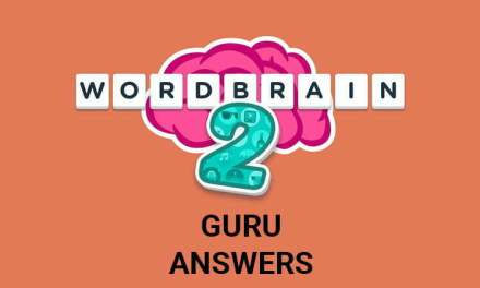 Wordbrain 2 Guru Answers