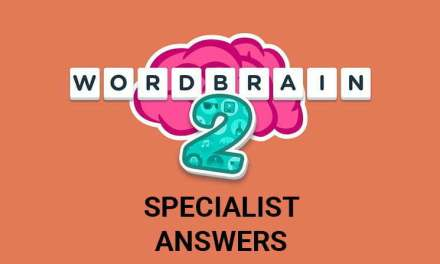 Wordbrain 2 Specialist