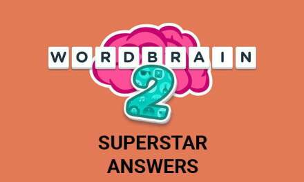Wordbrain 2 Superstar Answers