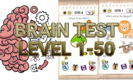 Brain Test: Tricky Puzzles Level 1-50 Answers