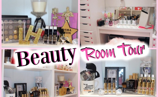 Beauty Room Tour 2016 In A Secret Relationship With