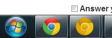Google Chrome två fönster